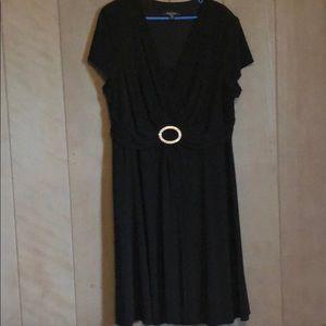 R & M Richard black dress in size 18W